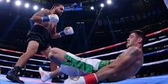 Este boxeador irlandés sufre una terrible lesión de rodilla en su debut profesional