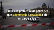 Tuerie à la préfecture de police : ce que la femme de l'assaillant a dit en garde à vue