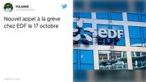 EDF. L'intersyndicale envisage une nouvelle grève le 17 octobre