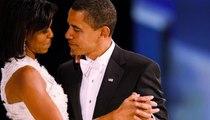 صور ولحظات تظهر الحب الحقيقي بين باراك وميشيل أوباما
