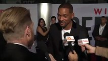 Will Smith :  'Asshole, why didn't you do THE MATRIX ?'