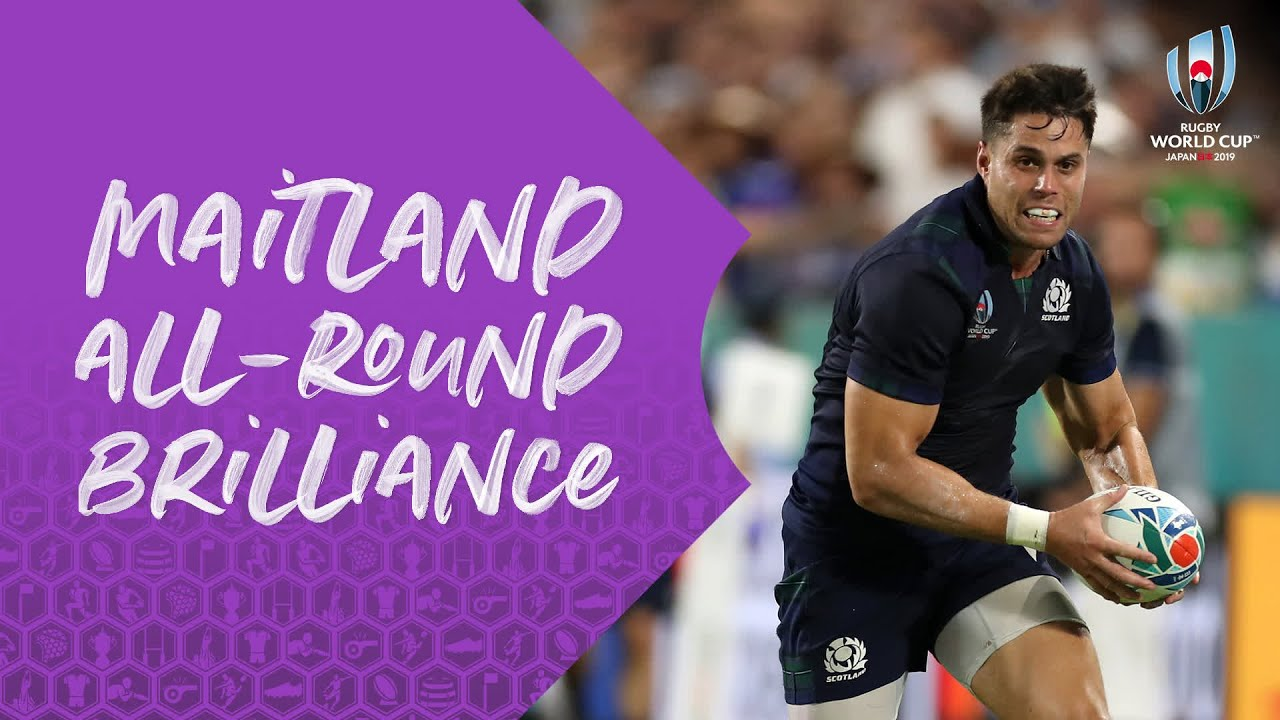 Sean Maitland is a true all rounder for Scotland