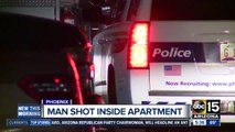PD: Man shoots at neighbors, accidentally shoots self instead
