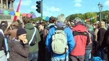 Klima-Bündnis legt Verkehr in Berlin lahm