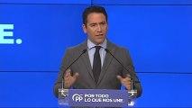"""El PP presenta su lema de campaña: """"Por todo lo que nos une"""""""