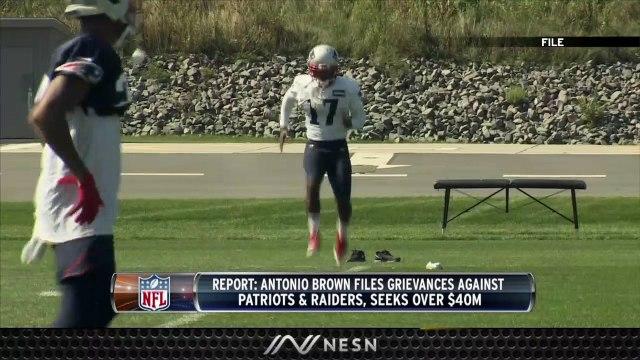 Antonio Brown Still Seeking Money From Patriots