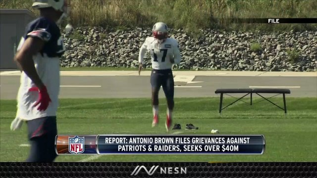 Antonio Brown Still Seeking Money From Patriots
