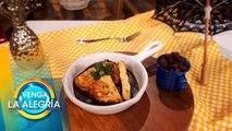 ¡Arranca tu semana con estas ricas tortitas de pollo en adobo de pasilla! | Venga La Alegría