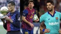 Os maiores artilheiros do Barcelona na Champions
