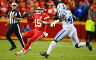 Patrick Mahomes Injures Ankle in Chiefs' Loss to Colts
