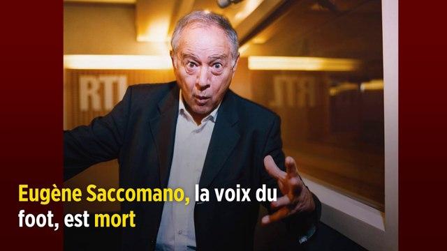 INFO LE POINT. Eugène Saccomano, la voix du foot, est mort