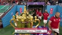 Highlights South Africa v Canada - Rugby World Cup 2019