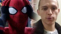 Tom Holland shaves his head and drives his fans crazy !