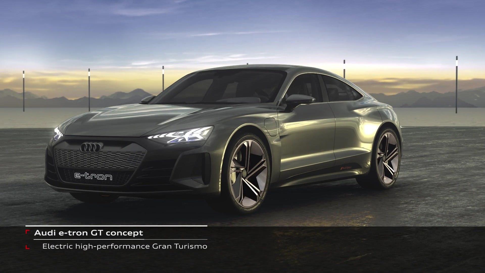 Audi E Tron Gt Concept Performance Platform J1