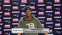 Tom Brady On Rob Gronkowski Being An NFL Analyst