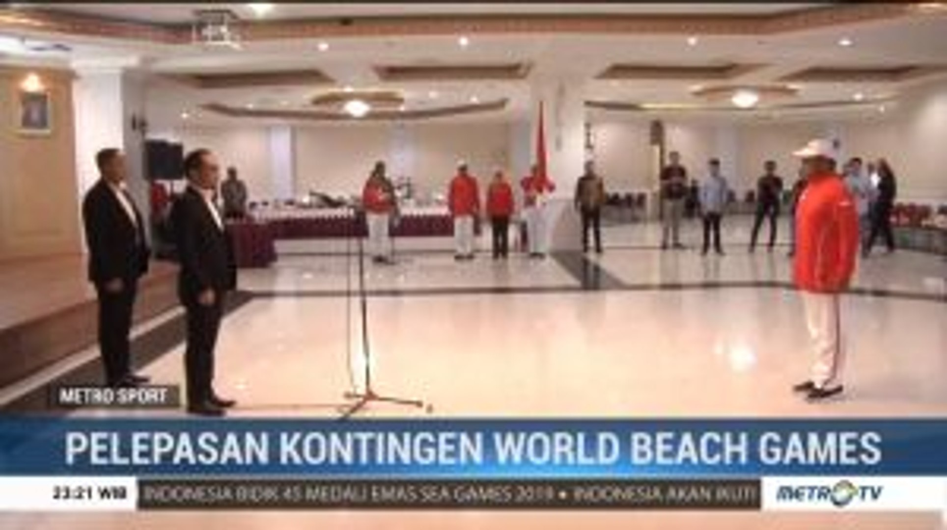 Pelepasan Kontingen World Beach Games Qatar