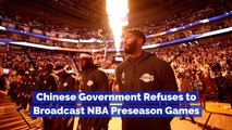 One Tweet Cancels NBA Preseason Games