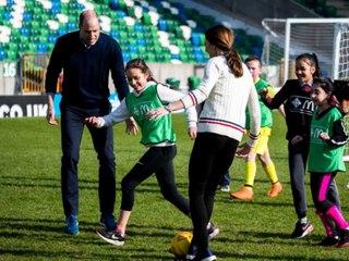 Kate und William auf sportlicher Belfast-Reise