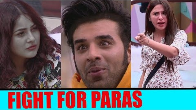 Fight between Shehnaz and Mahira for Paras