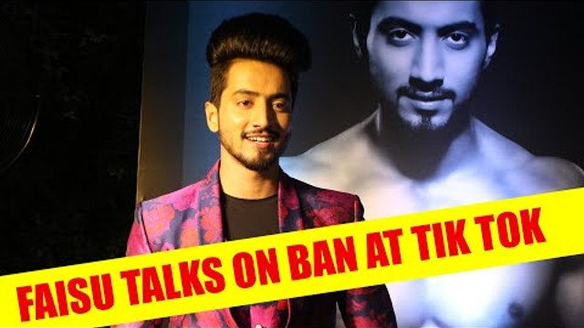 Faisu talks on ban at Tik Tok, Reality show and his upcoming projects