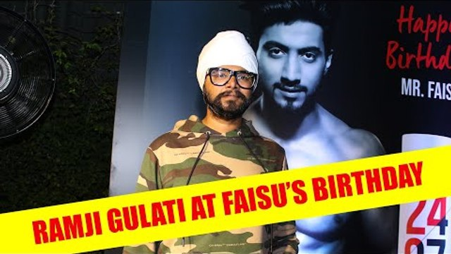 Ramji Gulati has a special gift for Faisu Birthday