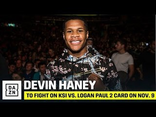 Devin Haney Explains Why He's Excited To Fight On KSI vs. Logan Paul 2 Card