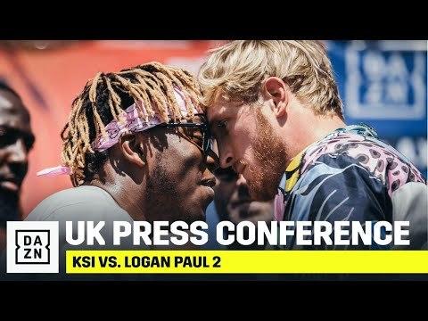 KSI vs. Logan Paul 2: UK Press Conference Livestream