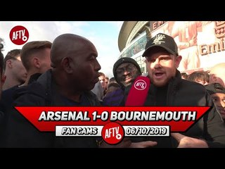 Arsenal 1-0 Bournemouth | Judge Emery When We're Playing With A Full Strength Team! (Johnny)