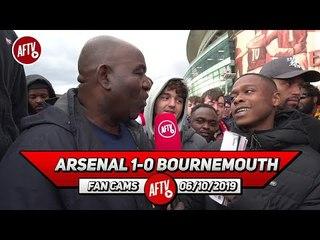 Arsenal 1-0 Bournemouth | Aubameyang's Feeding Off Of Scraps!! (Deluded Gooner)