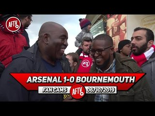 Arsenal 1-0 Bournemouth | We're Paying Ozil £350k WHERE IS HE?!