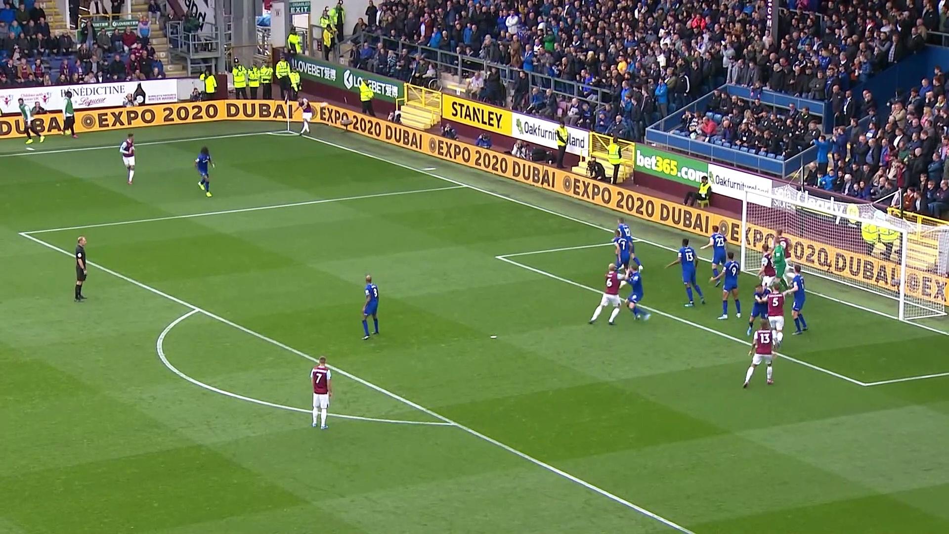 8. Hafta / Burnley - Everton: 1-0 (Özet)