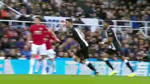 8. Hafta / Newcastle United - Manchester United: 1-0 (Özet)