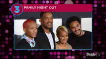 Family Night Out! Will Smith Brings His Two Sons and Wife Jada Pinkett to 'Gemini Man' Premiere