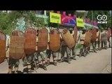 Violence Mars Gorkha Stir
