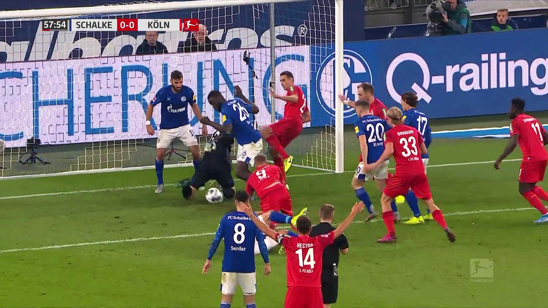 7. Hafta / Schake 04 - Köln: 1-1 (Özet)