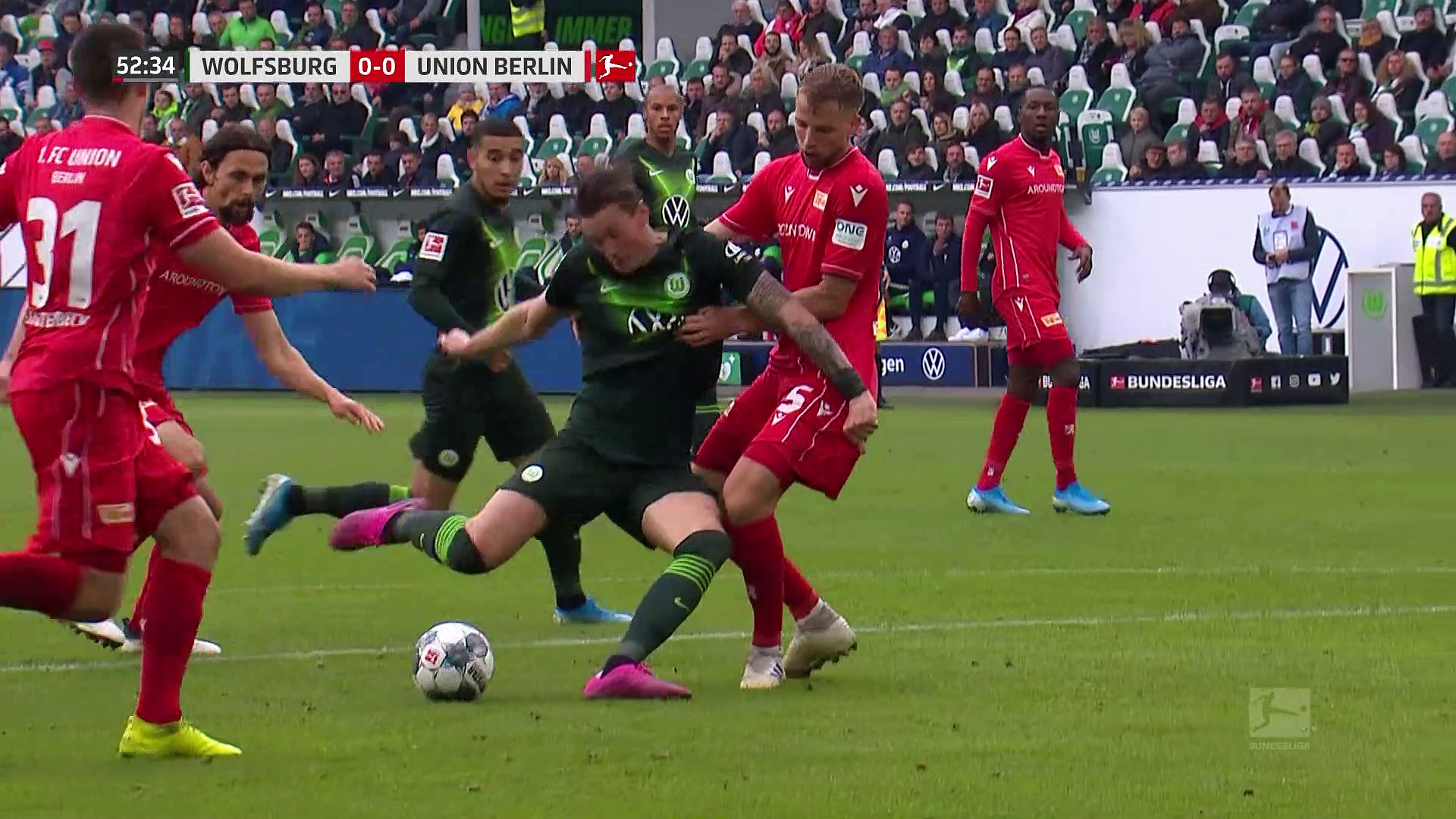 7. Hafta / Wolfsburg - Union Berlin: 1-0 (Özet)