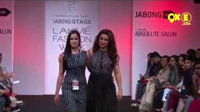 Gauhar Khan, Lisa Haydon, Tisca Chopra And Aditi Rao Hydari WALKED THE RAMP |  LFW Day 2