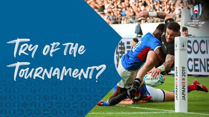 Is this the try of Rugby World Cup 2019 so far?