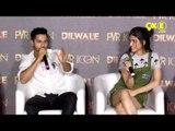 Varun Dhawan calls Kriti Sanon HOT   'Manma Emotion Jage' Song Launch   Dilwale