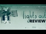 LIGHTS OUT is an okey-dokey horror film | Movie Review | SpotboyE