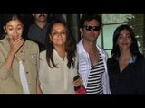 Alia Bhatt SNAPPED with mother Soni Razdan   Hrithik Roshan & Pooja Hegde at the Airport   Spotted