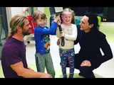 Tom Hiddleston And Chris Hemsworth Are Making Wishes Come True | Hollywood High | SpotboyE