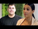Did Rob Kardashian Call Kim Kardashian MISERABLE? | Hollywood High