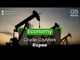 Crude Crushes Rupee