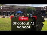 Shootout In Texas School