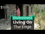 Village Lives On The Edge, Literally