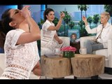 Priyanka Chopra Downs Tequila on The Ellen DeGeneres Show | SpotboyE