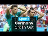 Germany Out Of World Cup