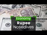Rupee Crashes To Record Low