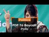 PDP Threat To Boycott Local Polls